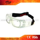 工場卸し売りHD視野はバスケットボールの保護Eyewearのゴーグルを遊ばす