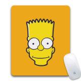2018 nuevo Simpson de encargo Mousepad de goma para el ordenador