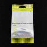 De plastic Zak van de Ritssluiting van de Verpakking met het Gat van Vliegtuigen
