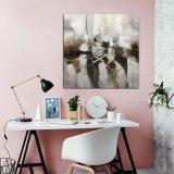 Нож Картины маслом абстрактных декор на стену, репродукции картин