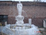 Witte Marmeren Europese Held die Standbeelden uithollen die Beeldhouwwerk snijden