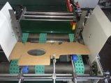 Dougle semi automático junta las piezas de la carpeta Gluer del rectángulo del cartón