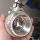 Female floating ball valve with Ce Certificate