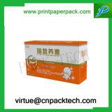Hochwertige kundenspezifische Form Nutrution Medizin-verpackender Papierkasten