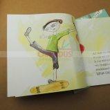 Livre de peinture de la qualité de l'impression du livre pour enfants