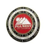 De metal estampado muere de la fábrica de cobre chapado en oro de la moneda personalizada de desafío para el recuerdo y de colección