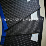 Tela semitransparente sembradas de fibra para el papel de los refuerzos y la estabilización