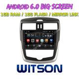 """Grande automobile DVD del Android 6.0 dello schermo di Witson 9 """" per Nissan Tiida (ALTI) 2016"""