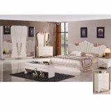 Mobilia della camera da letto della riproduzione con la base antica (3383)
