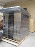 Horno rotatorio del estante del gas de la máquina 32-Tray del pan de la hornada