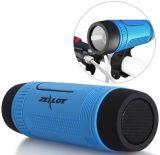 Support extérieur portatif FM de lampe-torche des haut-parleurs DEL de haut-parleur sans fil imperméable à l'eau de Bluetooth