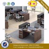 Assentos L estação de trabalho da divisória 6 do escritório da melamina da forma (HX-8N2118)