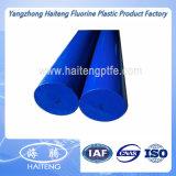PA6棒、ナイロン棒の白く、青カラーのPA6棒のナイロン棒
