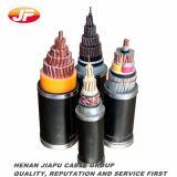 cable de transmisión aislado XLPE subterráneo del voltaje medio 22kv
