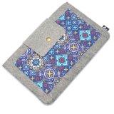 Мешок рукоятки для переноски случая мешка втулки компьтер-книжки тетради неопрена шерстей внутренний