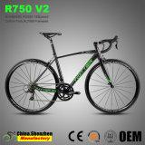 700c Straßen-Laufenfahrräder der Aluminiumlegierung-Al7005 mit Kohlenstoff Gabel