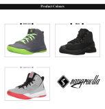 2017足の卸し売りよいQuanlityのバスケットボールのスポーツの運動靴のスニーカー