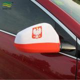 Couverture nationale de miroir de véhicule de la Pologne (B-NF13F14028)
