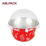 고품질 크리스마스 케이크를 위한 처분할 수 있는 알루미늄 호일 콘테이너