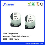 220UF 35V 3000hours Chip-elektrolytischer Aluminiumkondensator