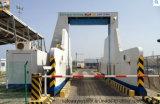 Sistema de inspeção Relocatable do veículo do recipiente do varredor da carga da raia do Sistema-x de Safeway