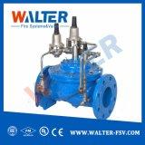 La válvula de alivio de presión automático de agua