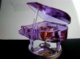 3D Laser Gegraveerde Lege Kubus van het Kristal, het Blok van het Kristal voor Herinnering