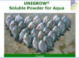 水産養殖、水質の改善のために水溶性Unigrow