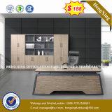 меламин Lamianted деревянный l таблица 1.8m управленческого офиса формы (NS-D007)