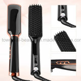2017 la spazzola Heated veloce elettrica variopinta del raddrizzatore dei capelli di migliore controllo facile di ceramica