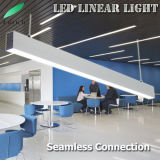 연결관의 전 세트를 가진 75*75mm 크기 알루미늄 LED 선형 전등 설비