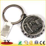 Apri creativo della bottiglia da birra del metallo di figura della capsula con Keychain