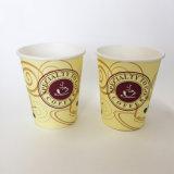 taza de café de papel de encargo de un sólo recinto disponible 8oz