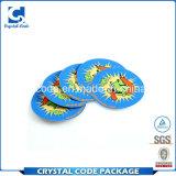 Reutilizable con alta calidad papel plastificado adhesivo etiqueta