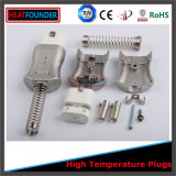 Fiche électrique de silicones de corps en aluminium avec la conformité de la CE