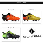 Nouvelle conception populaire occasionnel Mens OUTDOOR Chaussures de football Le football Turf