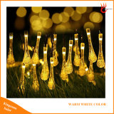 30 LED Christmas Lights Toilets Drop Solar Fairy String Lights for Outdoor Garden Lighting Decoration