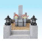 Hete de grafstenen&monument van het Graniet van Japan Grey&Black van de verkoop grote grootte