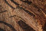 Brown-Art-Chenille-Sofa-Gewebe für Afrika (FTH31402)