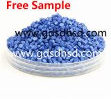 Blauwe Masterbatch met Hete het Zwartsel van 50% Verkoopt Masterbatch