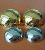 Decoración AISI304 SS316 la mitad de la bola de acero inoxidable /Hemisferio con superficie del espejo de 250mm x 1.2mm 150mm*0,8 de 120mm*0,8*80mm de espesor 0,7 mm