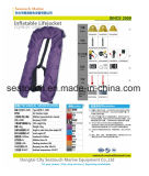 Ec/CCS Certificate/Marine Life Jacket를 가진 폴리에스테 Inflatable Life Jacket