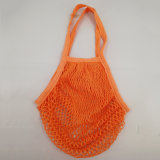 Lavorare a mano il sacchetto di acquisto netto del Crochet, il sacchetto 100% del cotone