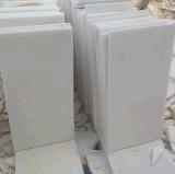 Mattonelle di marmo bianche di cristallo delle lastre del Vietnam