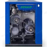 15HP compresseur d'air rotatoire mû par courroie stationnaire électrique de vis de 150 LPC