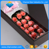 Custom Foil Printed Paper Cardboard Flowers Packing Gift Box