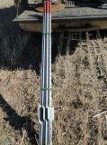 일반업무 1.25lb/F PVC는 T에 의하여 장식용 목을 박은 포스트를 입혔다