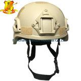 Combat tactique Aramid de la couleur Mich2000 de Tan/casque ballistique Nij Iiia de Kevlar. Magnum 44
