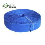 Mangueira de irrigação agrícola Pesado Layflat de PVC flexível