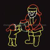 실내 옥외 훈장 크리스마스 LED 네온 등은 네온 등을 둥글게 된다